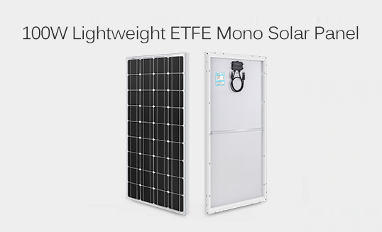 100W Lightweight ETFE Mono Solar Panel